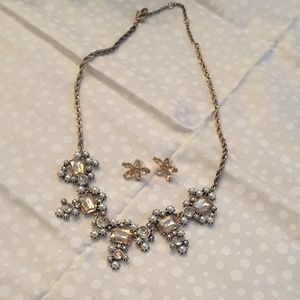 Loft necklace and coordinating earrings