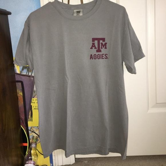 bf6f36ca18aa3 Comfort Colors Texas A M Aggies T-Shirt. M 59bc34939c6fcfabd7009507
