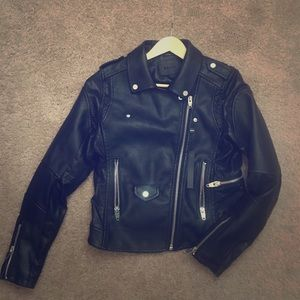 BLANK NYC faux leather jacket NWT