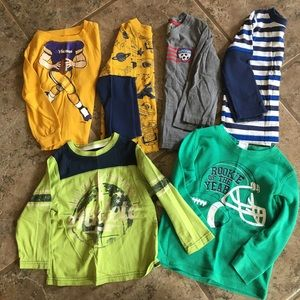 Other - 3t lot of long sleeve shirts (6 of them)