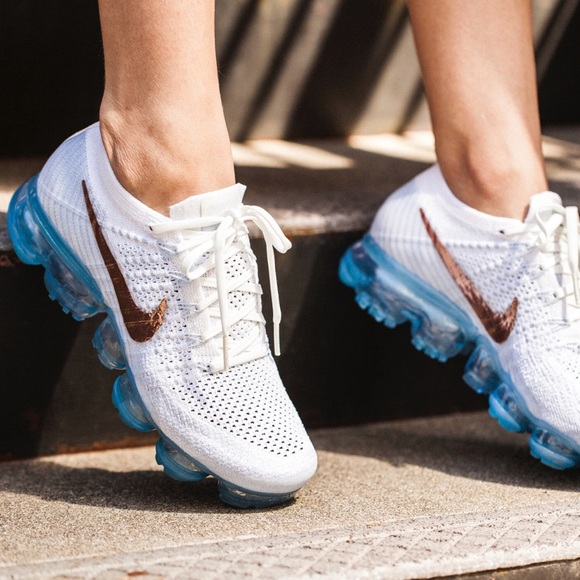 nike air vapormax flyknit rose gold