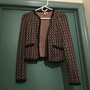Brocade Knit Jacket