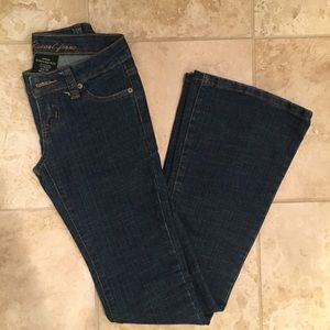 Wet Seal 00 Regular Dark Navy Jeans