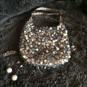 Sassy Sequin Evening Bag