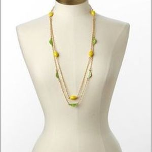 Lilly Pulitzer Lemon and Lime Necklace