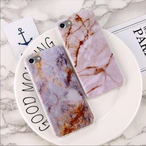 Accessories - IPHONE 7 8 PLUS MARBLE FANCE NEW CASE