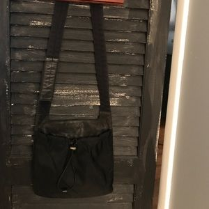 Authentic Nylon and Leather Prada Crossbody