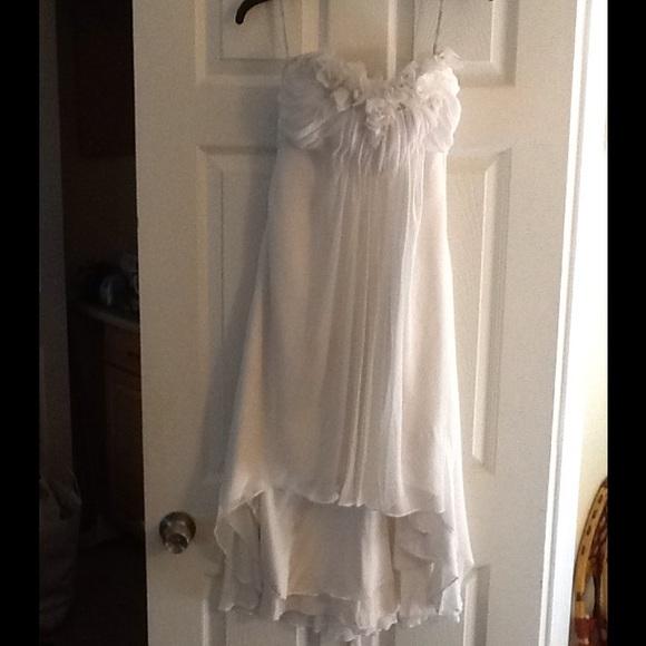 Maggie Sottero Dresses | Floral Tulip Bottom Wedding Dress | Poshmark