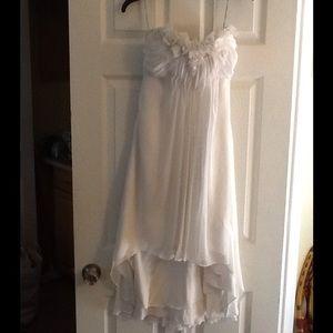 MAGGIE SOTTERO FLORAL TULIP BOTTOM WEDDING DRESS