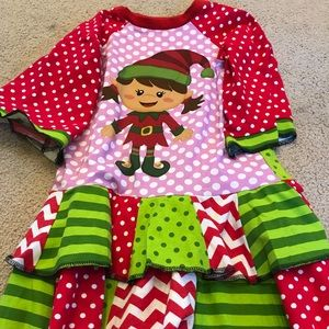 Other - Custom 5/6 Christmas Elf Dress