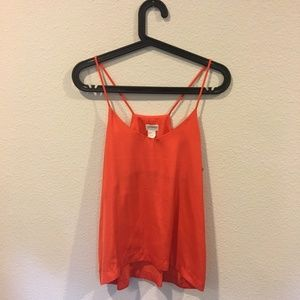 H&M Conscious bright orange tank