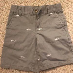 Janie and jack shark shorts