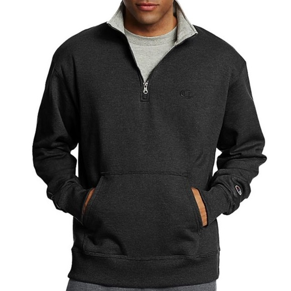 3a285c7a6df5 Champion Other - Champion Men s Powerblend 1 4 Zip Sweatshirt