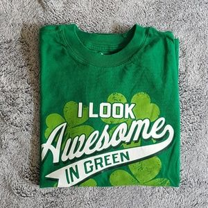 Other - Boy T-Shirt I Look Awesome In Green