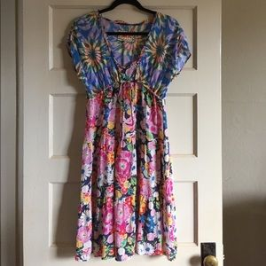 Johnny Was Floral Dress