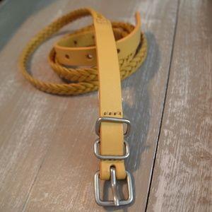 GAP Genuine Leather Skinny Belt