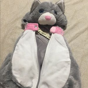 Babygirl Cat costume and vest size 6-9 M