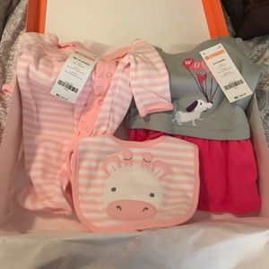 Newborn baby Girl clothes Gymboree