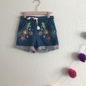 Other - Embroidered Shorts 2T