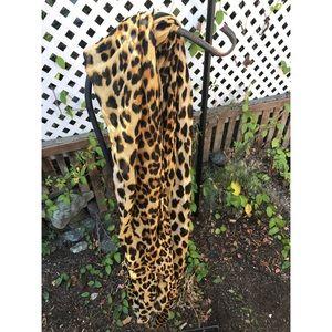 Super long leopard Zara scarf