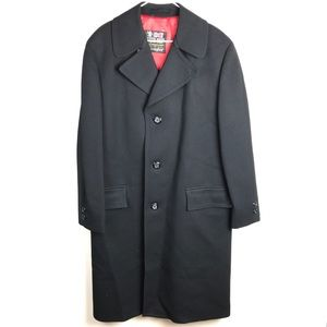 Austin Reed Jackets Coats Men Austin Reed Elegant City Black Long Pea Coat Poshmark