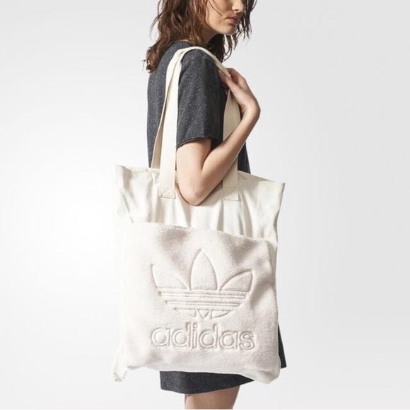 a9bac6310ae adidas Bags | Reserved Korreyn88 Xl Canvas Tote | Poshmark