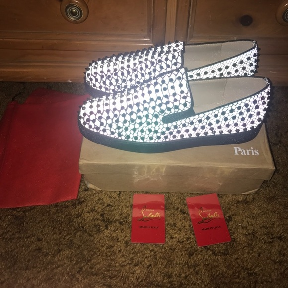 christian louboutin red bottoms mens
