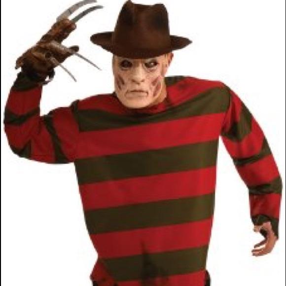 Other Mens Freddy Krueger Costume Shirt Poshmark