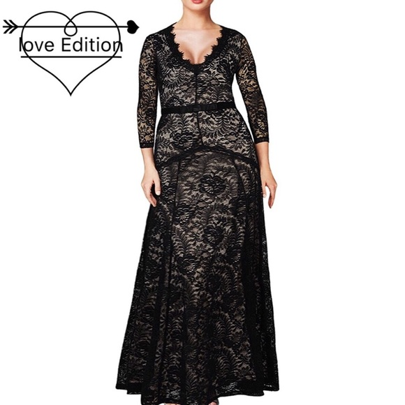 Dresses & Skirts - ♠️Black Swan Winter Lace Wedding Gown, XS-3XL