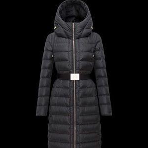 Dark Brown Size 1 Moncler Imin Puffer Coat