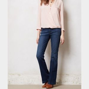 Anthropologie Pilcro stet flare jeans NWT 27