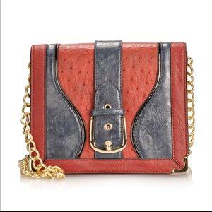 Melie Bianco Renee Belted Flap Over Handbag