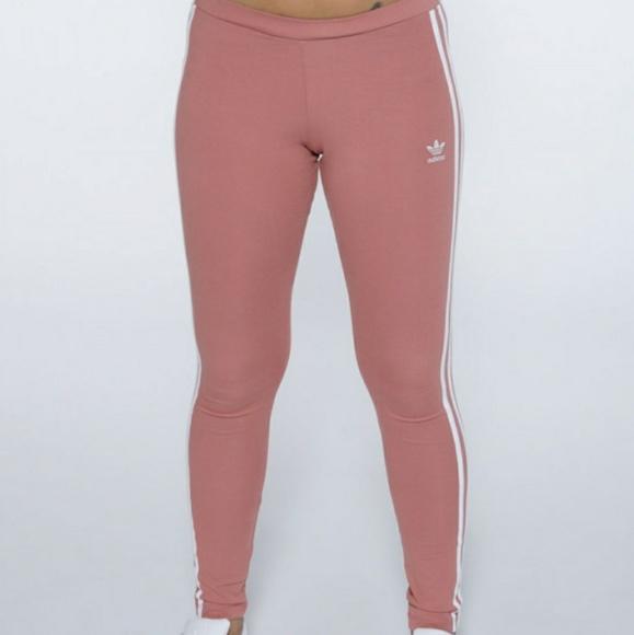 37d00b8aab4 adidas Pants | Rare Raw Pink Legging | Poshmark