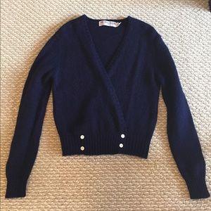 Robert Scott Ltd Knit cropped cardigan