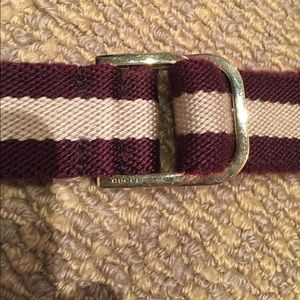 76d6789f8 Gucci Accessories | Web Belt Gold D Ring | Poshmark