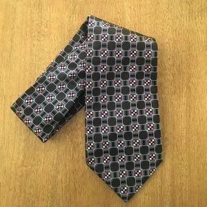 NWOT Banana Republic Men's Blue Printed Silk Tie