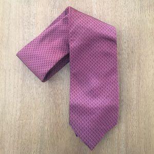 NWOT Banana Republic Men's Red Printed Silk Tie