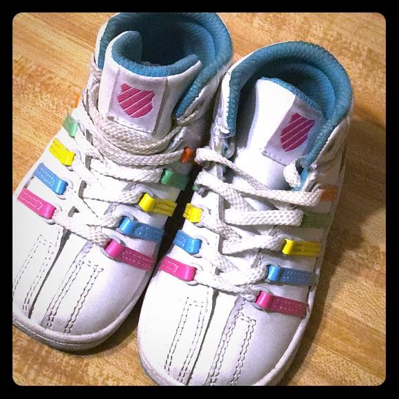 K-Swiss Shoes   Rainbow Kswiss Infant