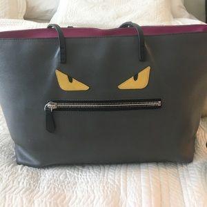 Fendi monster  handbag