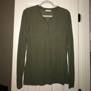 Urban outfitters truly madly deeply henley top
