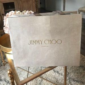 Jimmy Choo shopping bag