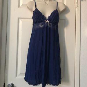 Victoria's Secret Midnight Blue Nightie