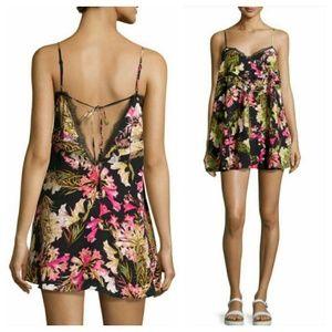Lovers + Friends Tropical Floral Mini Dress