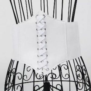 Corset Belt White New Halloween Costume 🎃