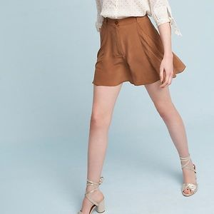 Anthropologie Silk Sikly Girly Girl Shorts