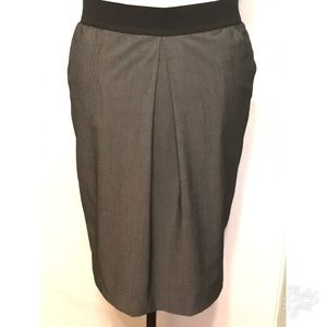 Alfani Pencil Skirt Pockets Wide Waistband Sz 12