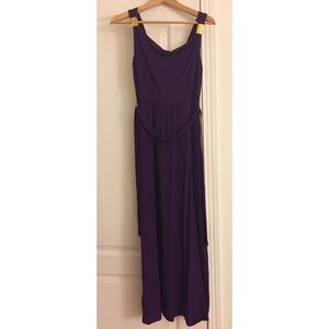 Ann Taylor Grecian maxi dress