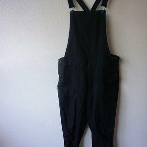 503de0bc3f8c Cotton On Jeans - Black Denim Overalls Size 6 COTTON ON