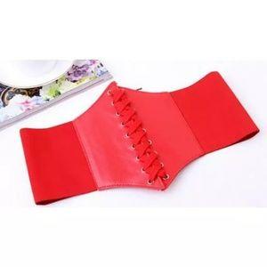 Corset Belt Red New Halloween Costume 🎃