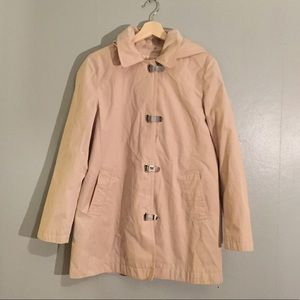 Michael Kors Raincoat with Front Clip and Hood